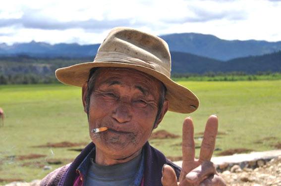 Gesicht Mann Gesicht Kam Ein Alter Mann